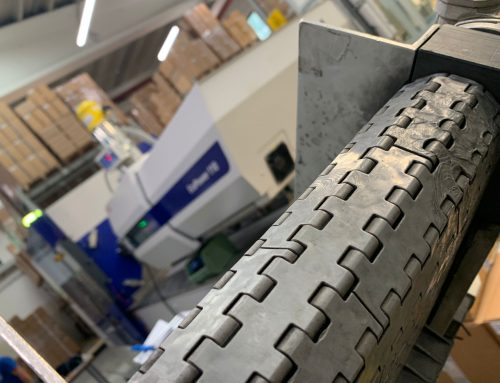 Two new injection moulding machines in action